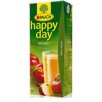 HAPPY DAY Jablko 100% 0,2l  27TP